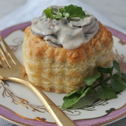 Puff Pastry Mushrooms image photo 2