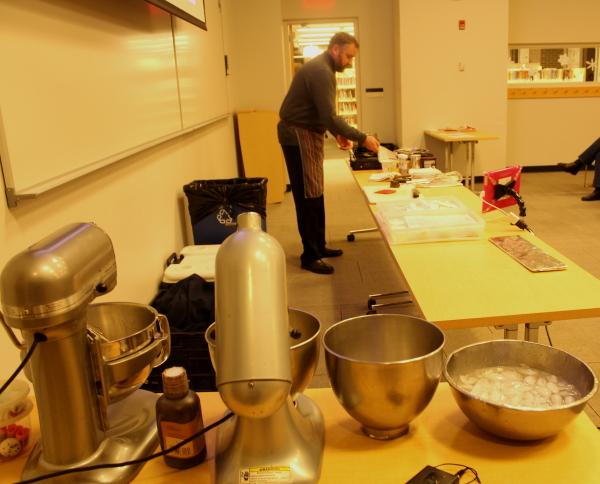 Yule log setup with chef