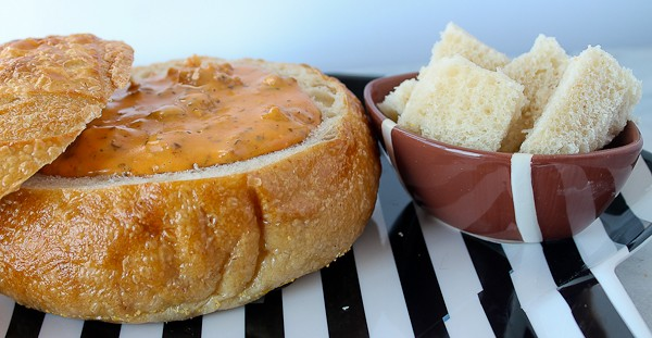 Bread Bowl with dip