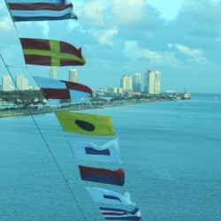 Celebrity Reflection flags