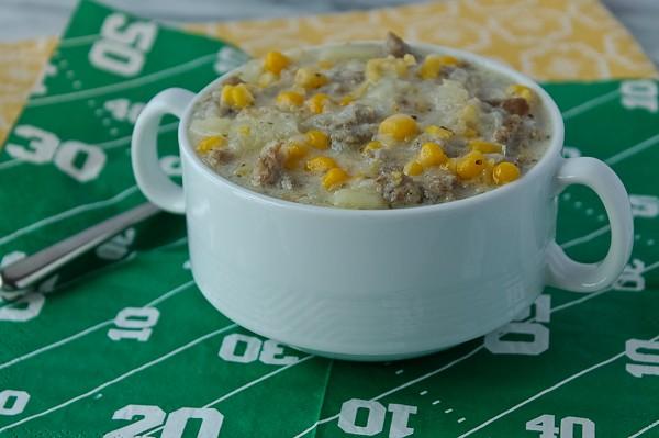 Corn Chowder Super Bowl_