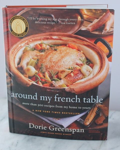 Dorie Greenspan French Table cover