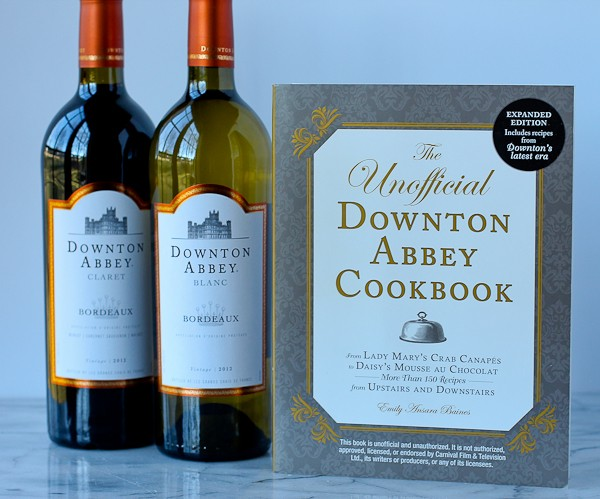 Downton Abbey wine and cookbook