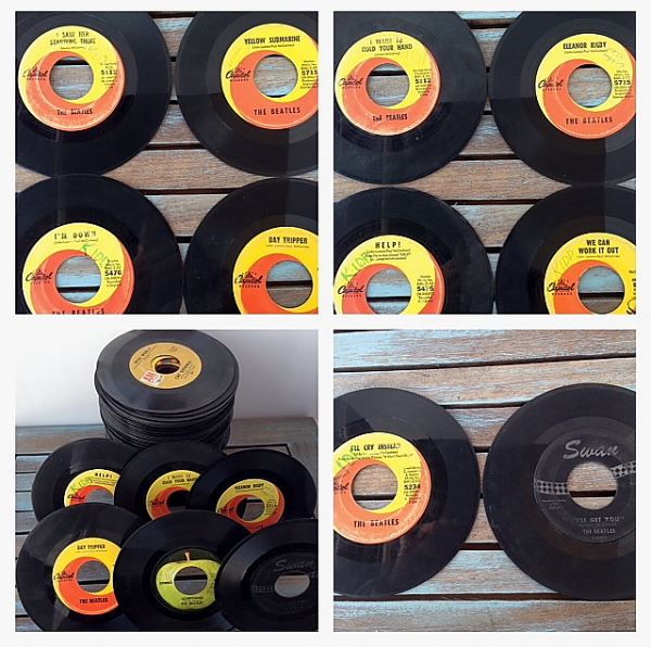 Beatles group of 45's