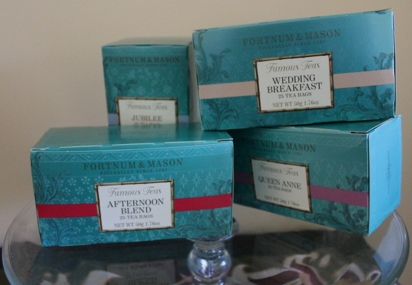 Tea Party boxes of  tea