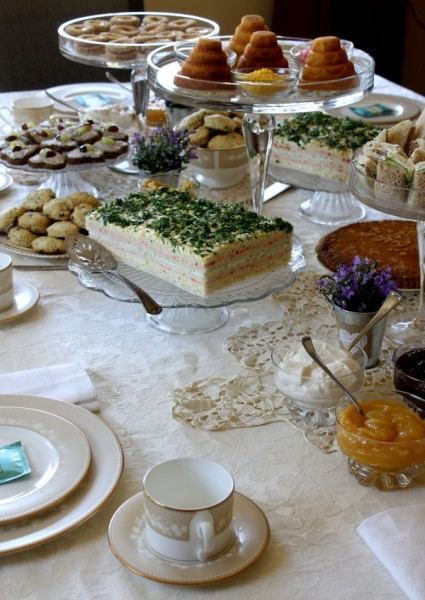 Tea Party table spread