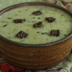 Blue cheese soup image