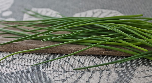 Chives on runner