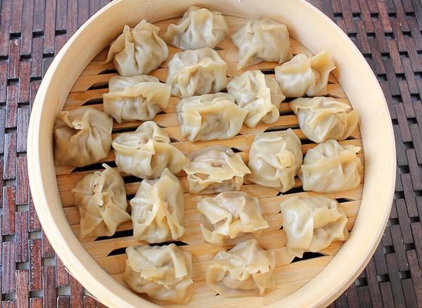 Dumplings top view 2 closer