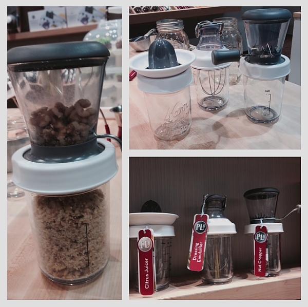 Home Show 2014 Progressive mason jar tops