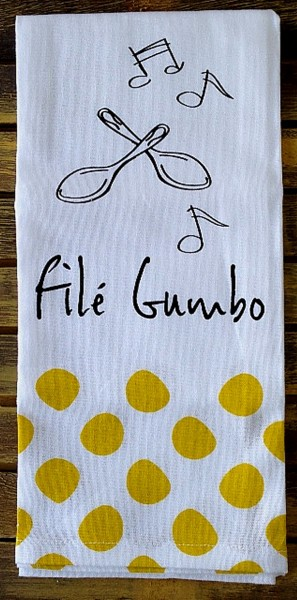 NOLA File Gumbo towel