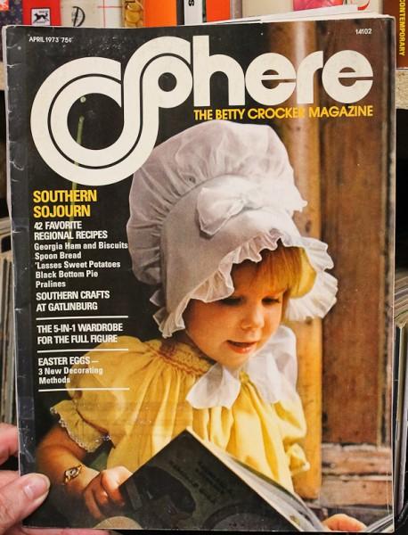 Sphere April 73 cover