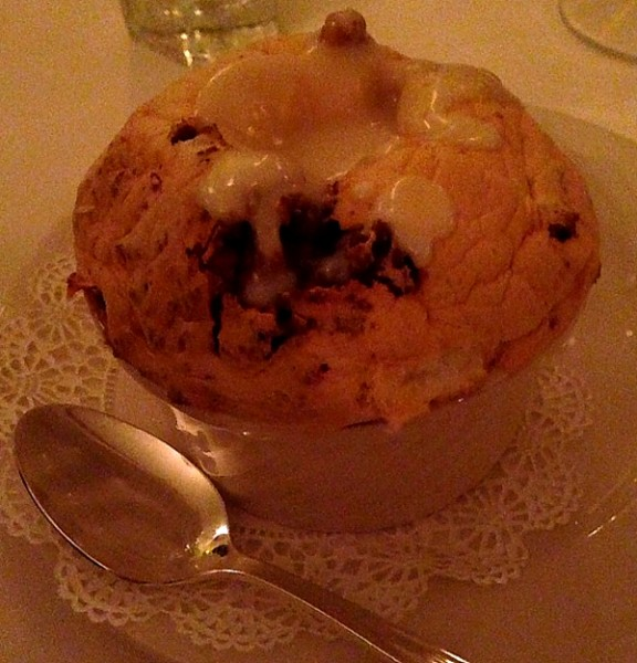 Wedding Commander's Palace bread pudding souffle
