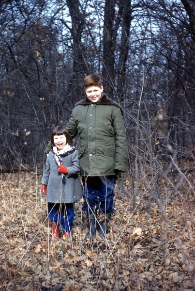 Deb and Paul in woods copy