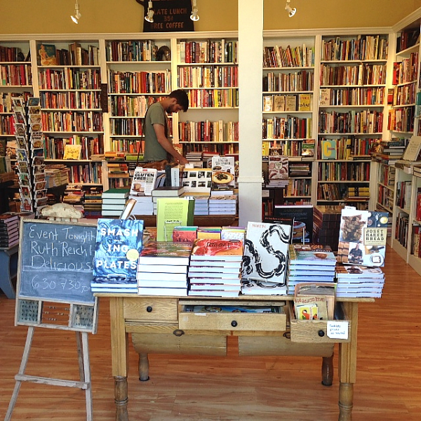 Omnivore view overall of shelves