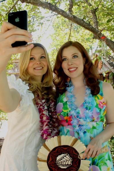 Tonga Kara and Kristina selfie 1