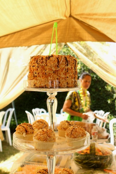 Tonga coconut cake whole 3