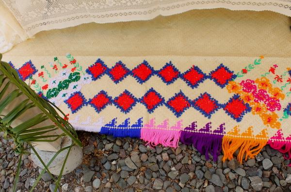 Tonga colorful mat