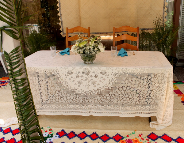 Tonga wedding table 3