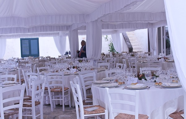Altemura dinner tent