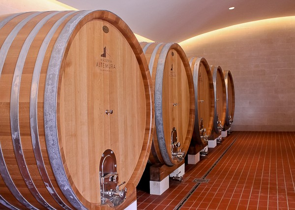 Altemura large wine barrels