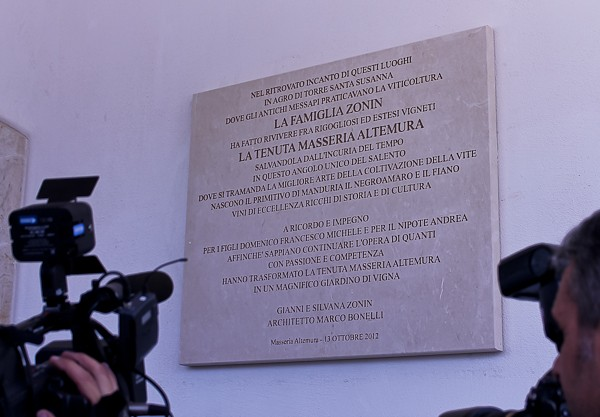 Altemura plaque