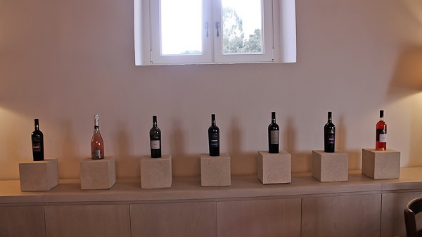 Altemura wine line-up