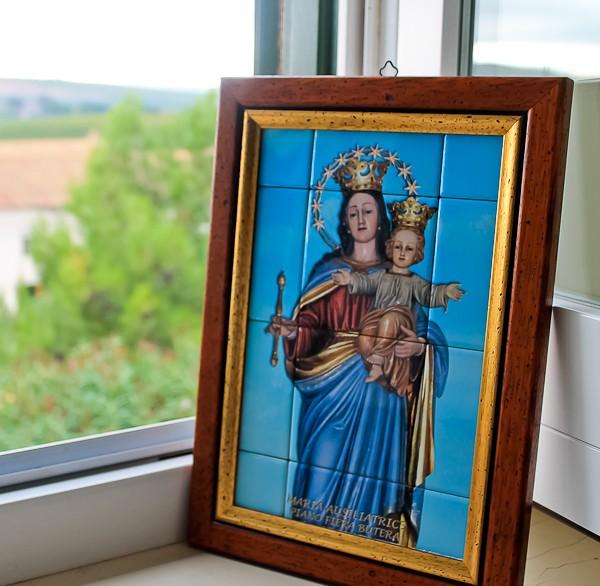 Butera Mary in window