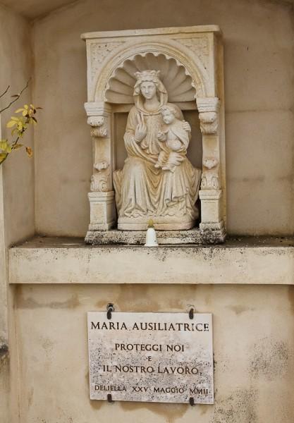 Butera Mary statue