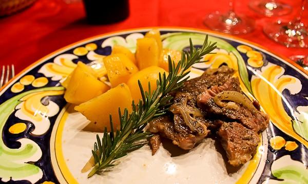 Butera lamb dish