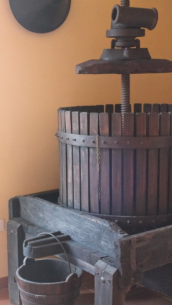 Butera old wine press