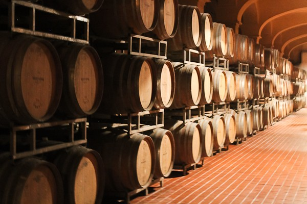 Butera wine barrels