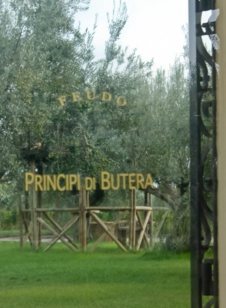 Butera winery door