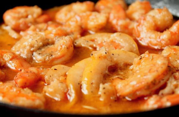 Shrimp in butter 1