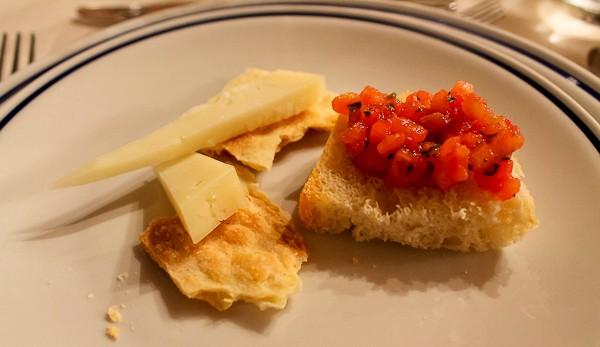 Tuscany bruschetta