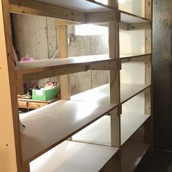 Culinary Cellar Empty shelf by wall 1