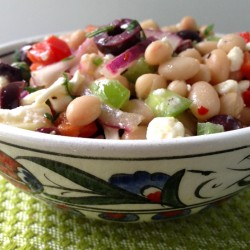 Turkish bean salad 6