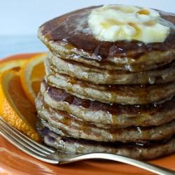 Buckwheat pancakes image