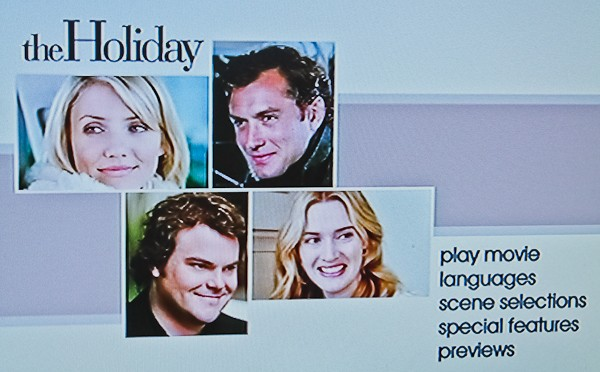 The Holiday movie intro