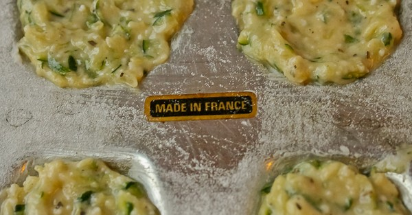Zucchini Madeleine Made in France sign