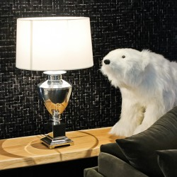 Arctic Lights table lamp and bear