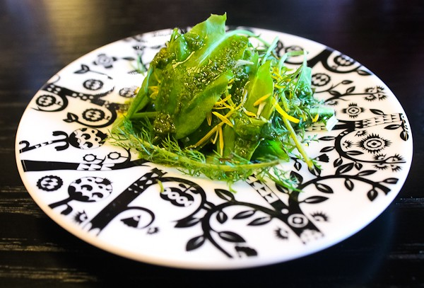 Arctic restaurant salad