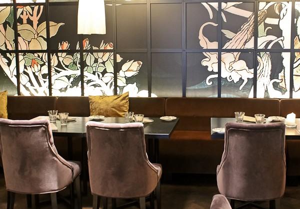 Arctic restaurant table