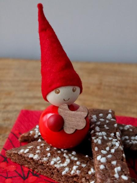 Chocolate Slice cookies with aarikka