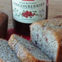 Lingonberry Quick Bread 1