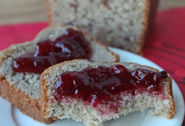 Lingonberry quick bread 5