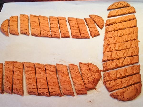 Slice Cookie logs sliced