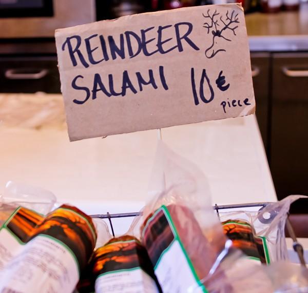 reindeer salami