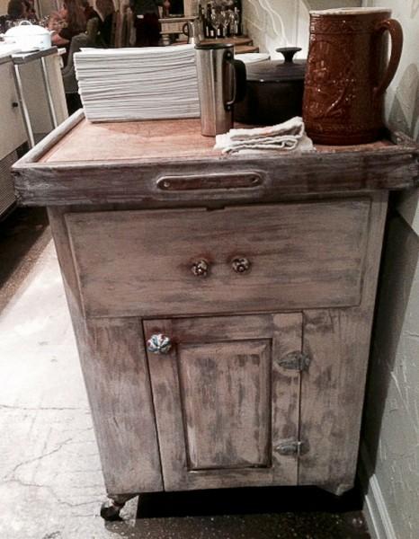 Elizabeth antique cabinet