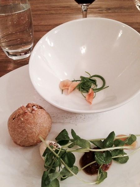 Elizabeth bread and soup